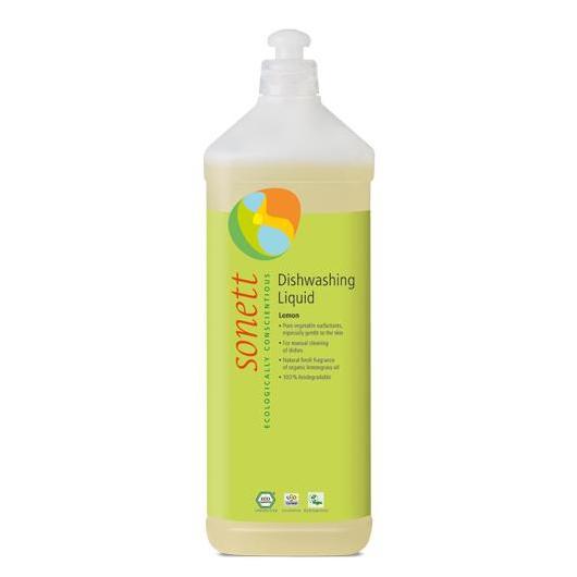 Sapone liquido per lavaggio a mano al limone Sonett, 1kg