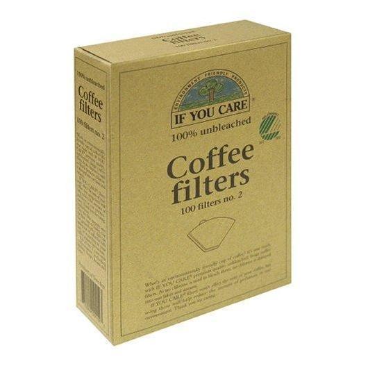 Filtros café IF YOU CARE nº 4, 100 ud