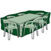 Copertura rettangolare per tavole e sedie in polietileno