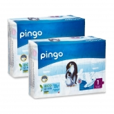 Pingo Size 1 nappies (newborn) 2x27pcs