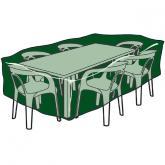 Copertura rettangolare per tavole e sedie in poliestere