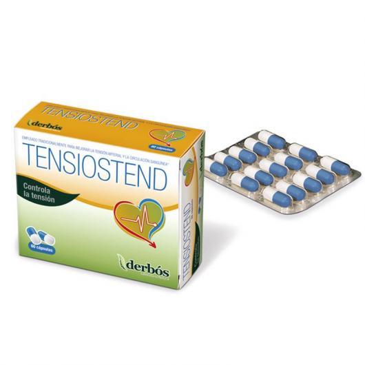 Tensiostend Derbós, 60 Cápsulas de 500 mg