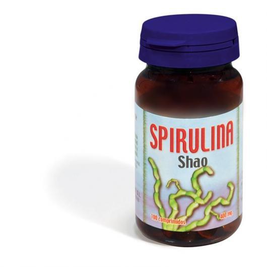 Spirulina Shao Derbós, 100 compresse