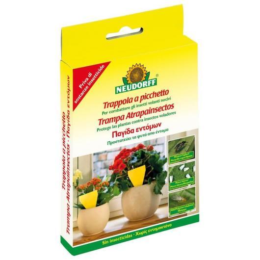 Piège à insectes pour pots de fleurs 13 cm, 10 pièces