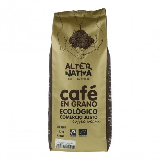 Caffè biologico in grani Alternativa, 250 g