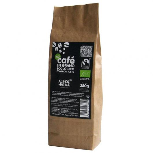 Café biologique en grains Alternativa, 250 g