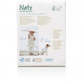 Pannolini Nº 4 + Naty 9-20 kg, 25 unità