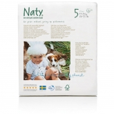 Pannolini Nº 5 + Naty 11-25 kg, 23 unità