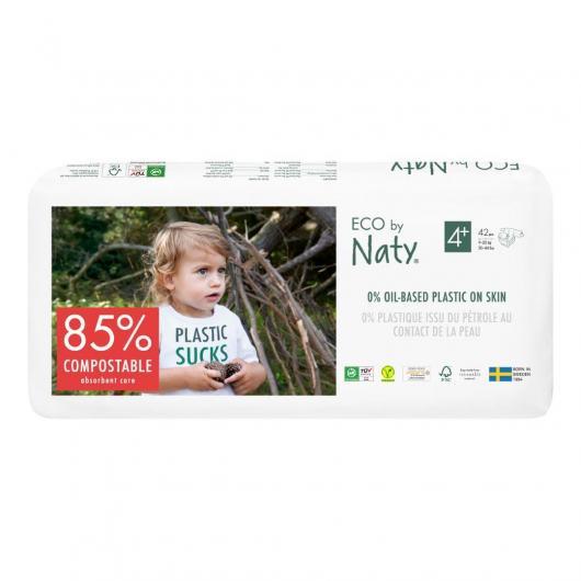 Pannolini Nº 4+ Naty 9-20 kg, 44 unità