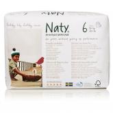 Pannolini N 6 Naty 16+ kg, 18 unità
