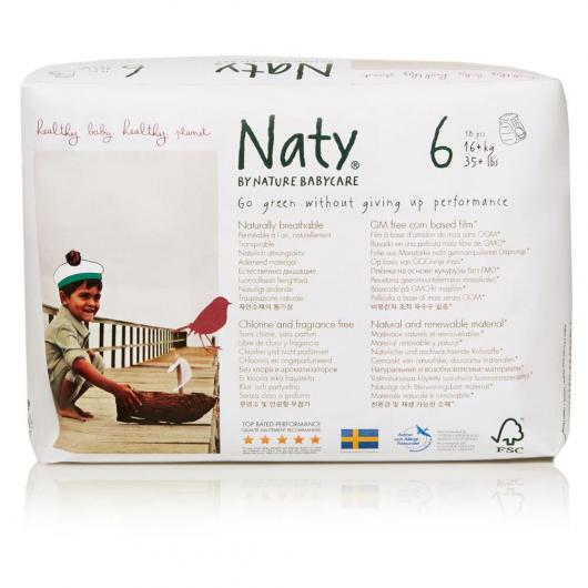 Couches-culottes n°6 Naty 16+ kg, 18 pièces