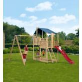 Parco bambini Duplex con altalena