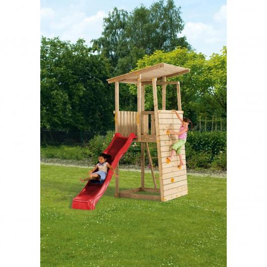 Parque infantil Bunker sin columpio