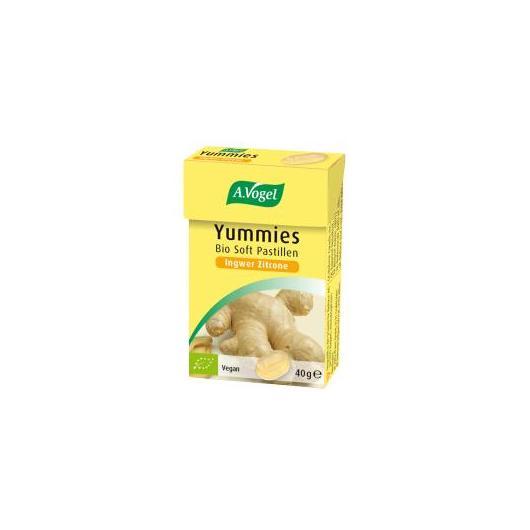 Yummies Jengibre-Limón A.Vogel, 40 g