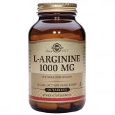 L-Arginina 1000 mg, 90 cápsulas Solgar