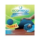 Azul pano de microfibra macia Ecofrego