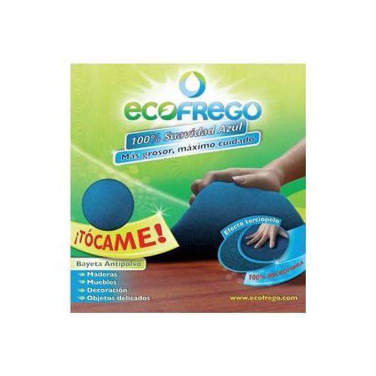 Bayeta microfibra suavidad azul Ecofrego