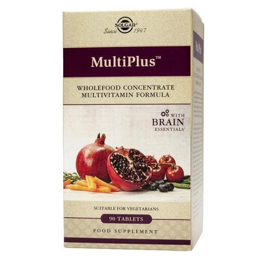 Multiplus ™ Brain Solgar, 90 comprimidos