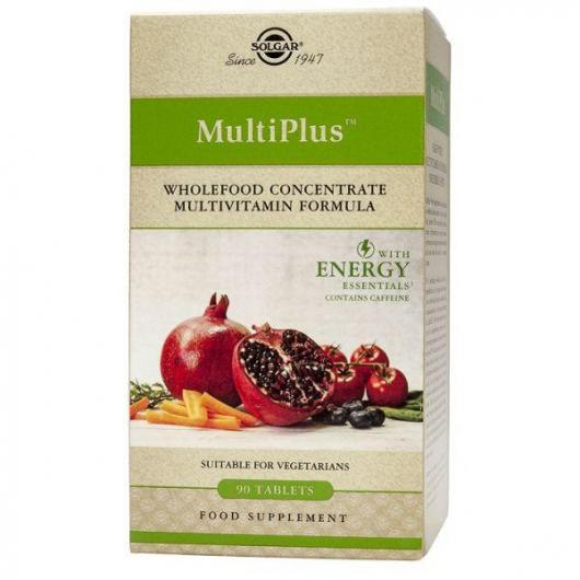Multiplus ™ Energy Solgar, 90 comprimidos