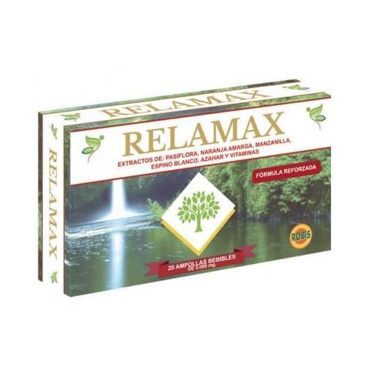 Relamax 400 mg Robis, 20 ampollas