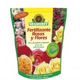 Fertilizante orgânico para rosas e flores