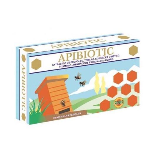 Apibiotic Robis, 20 ampollas de 10 ml