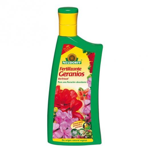 Fertilizante orgánico geranios