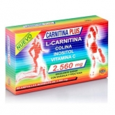 CARNITINA PLUS 20AMP 2560MG