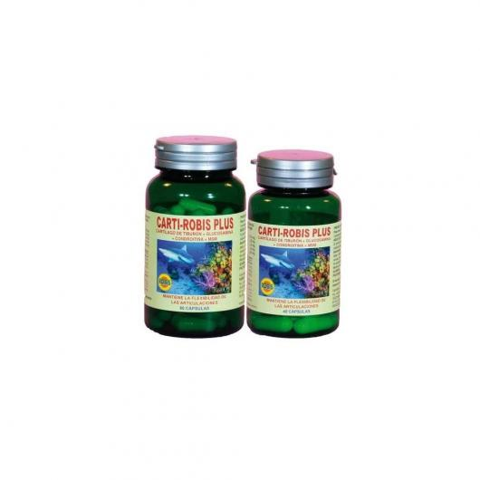 Pack Cartirobis Plus Robis, 80 y 40 cápsulas