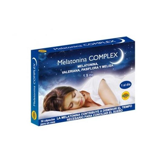 Melatonina Complex 1,9 mg Robis, 30 cápsulas