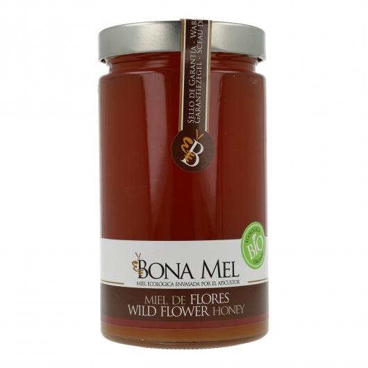 Miel de Mil Flores Ecológica Bona Mel, 900 g