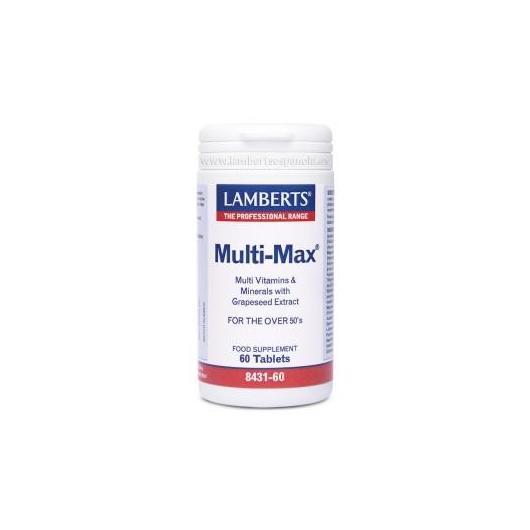 Multi-Max ® una al día Lamberts, 60 tabletas