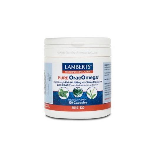 OracOmega ® Puro Lamberts, 120 cápsulas