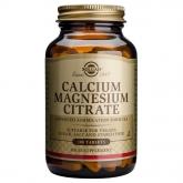 Solgar Cálcio comprimidos de magnésio Citrato