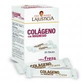 Colágeno con Magnesio sabor fresa Ana María la Justicia, 20 sticks