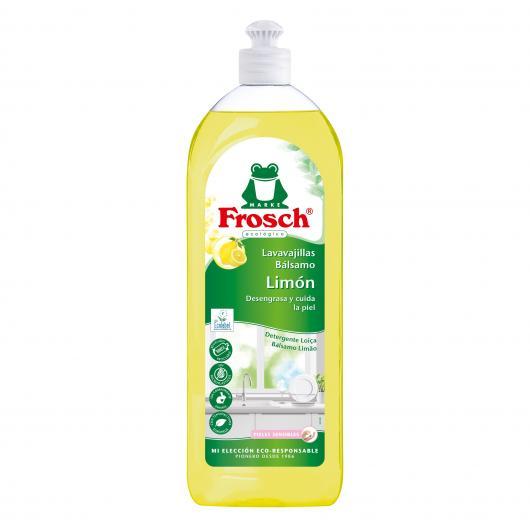 Liquide vaisselle citron Eco Froggy, 750 ml