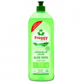 Detergente Lavastoviglie Eco Aloe Vera Froggy, 750 ml