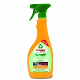 Spray nettoyant orange vitres et induction Eco Froggy, 500 ml