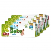BIO BABY nappies (7-10kg) pack of 4 x 34pcs