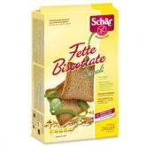 Fette Biscottate Cereali senza glutine Dr. Schaer, 250gr