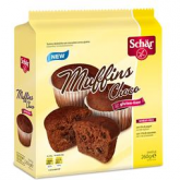 Muffins Cioccolato senza glutine Dr. Schaer  (4 x 65g)