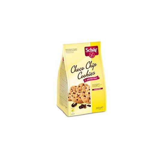 Choco chip cookies senza glutine Dr. Schaer, 200gr