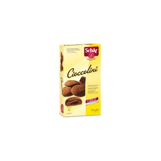 Gallette ripiene di cioccolati - Cioccolini senza glutine Dr. Schaer, 150 gr