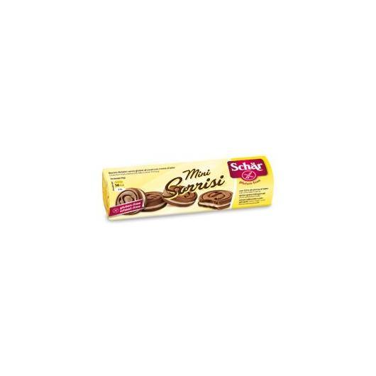 Mini Galletas de cacao con crema de leche sin gluten Dr.Schaer, 100g