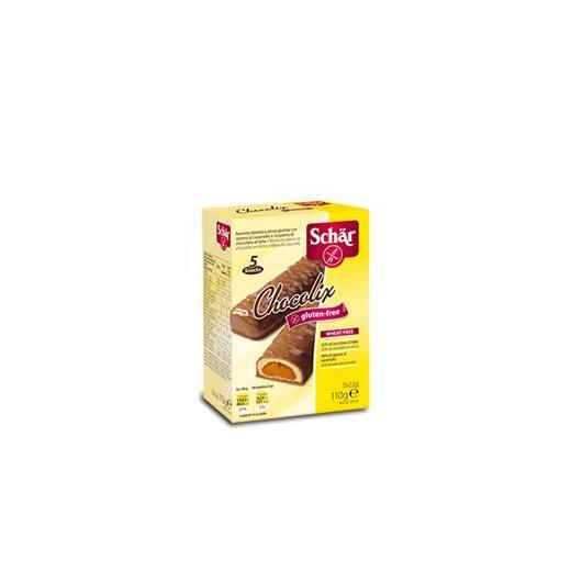 Barritas de chocolate Chocolix sin gluten Dr.Schaer, 110gr