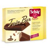 Barquillos crujientes sin guten Twin Bar Dr.Schaer 3uds, 64.5g