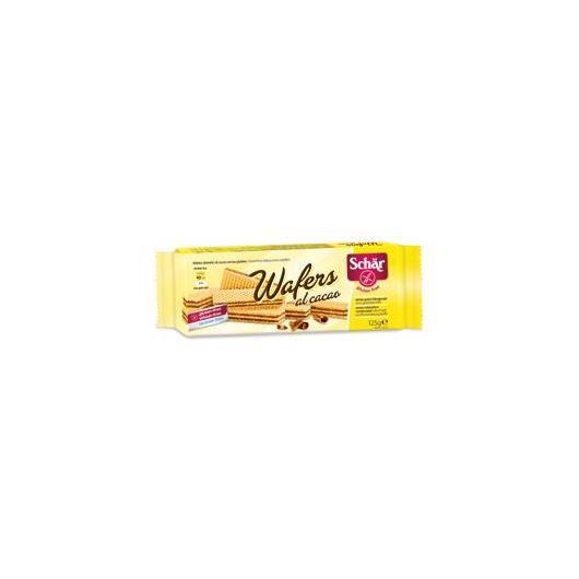 Wafer Cacao senza glutine Dr. Schaer, 125 gr
