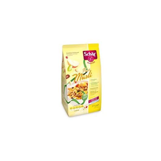 Muesli di frutta senza glutine Dr. Schaer, 375 g