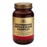 Complejo antioxidante de Azufre Solgar, 90 cápsulas vegetales