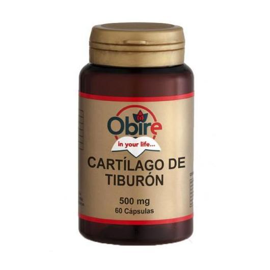 Cartillagine di Squalo 500 mg Obire, 60 capsule